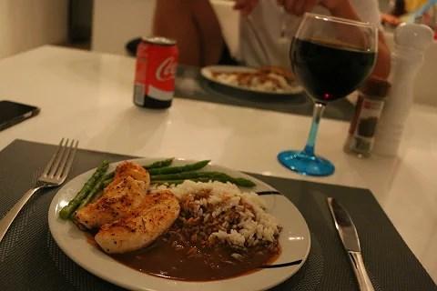 Middag för tv��?