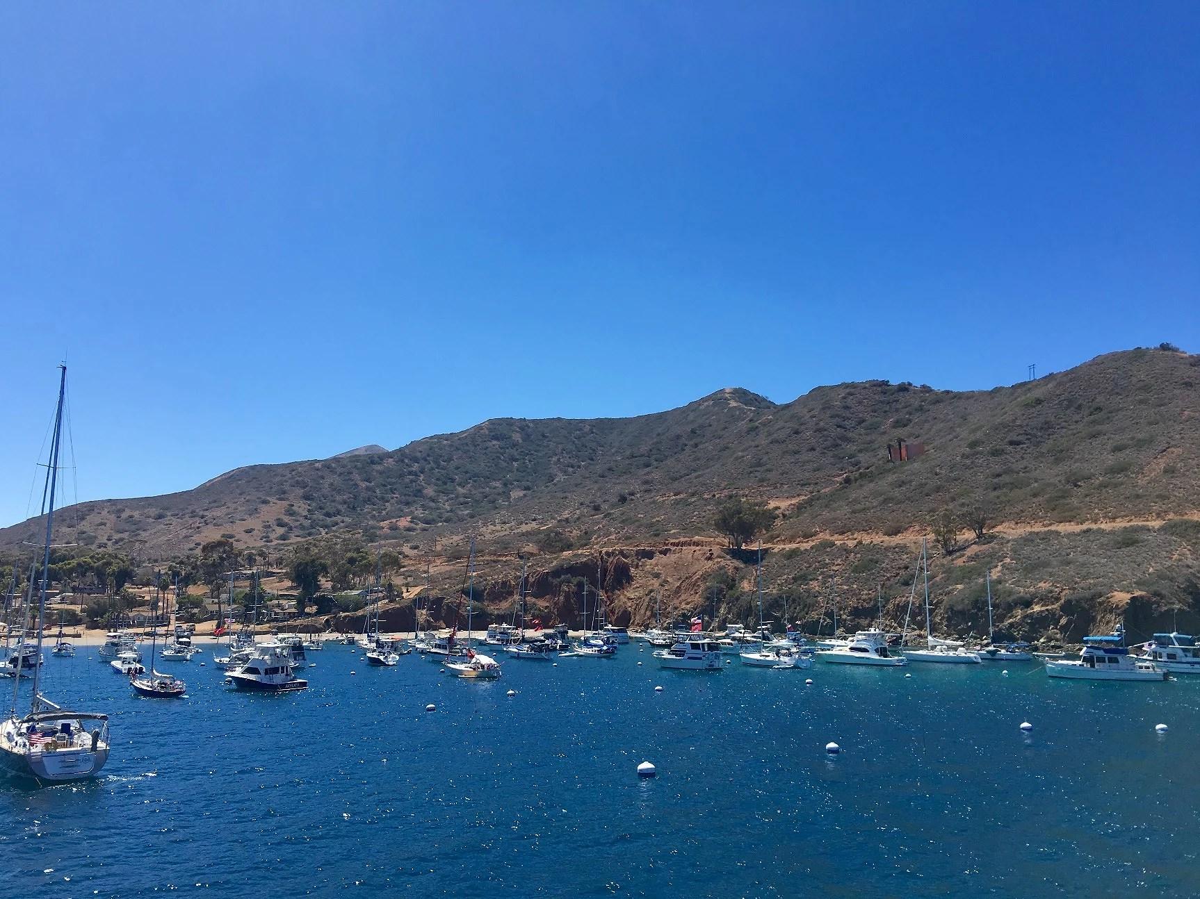 Birthday celebrations at Catalina Island