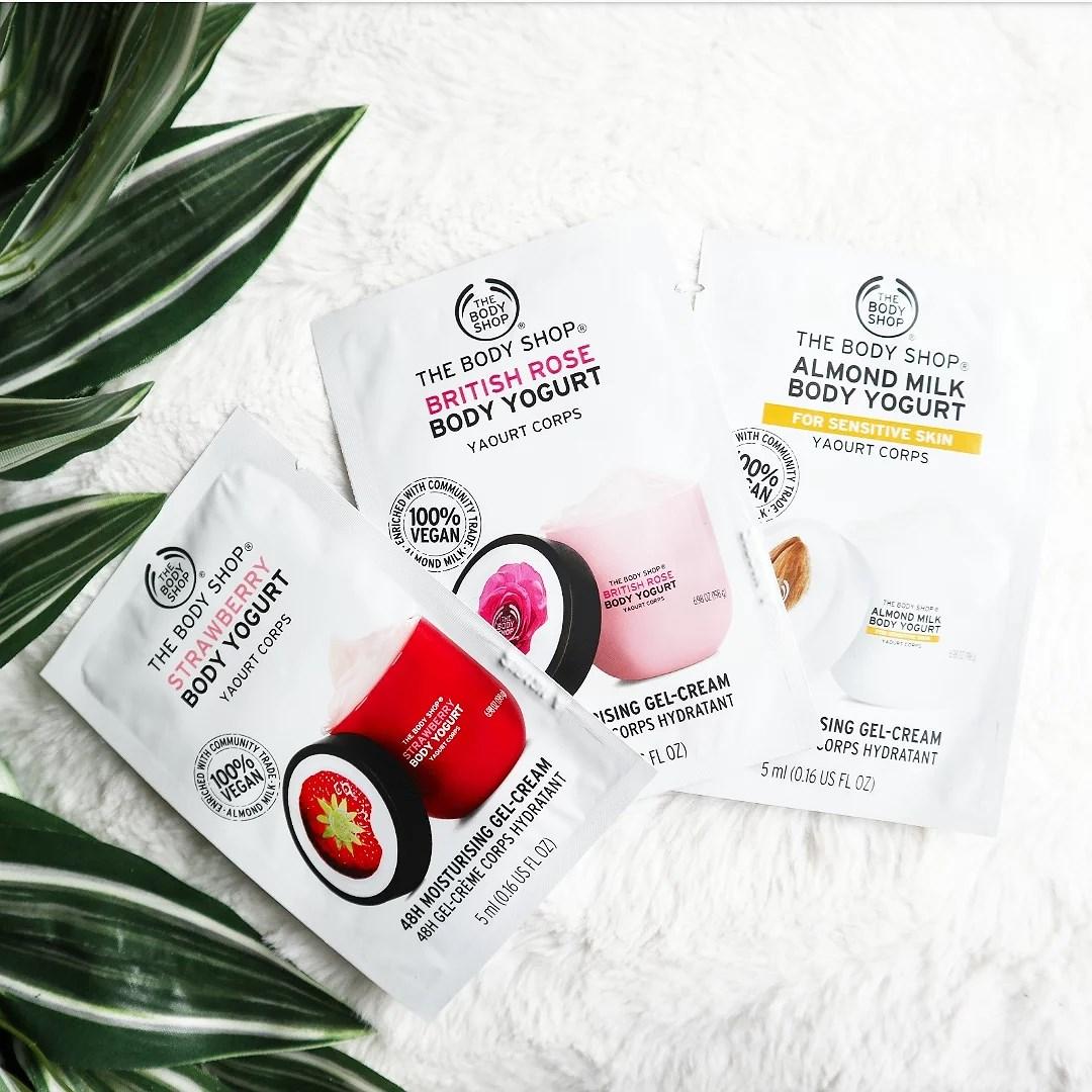 Nyhet: Body yogurt från The Body Shop
