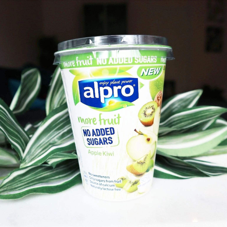Alpro More fruit no added sugars Apple Kiwi