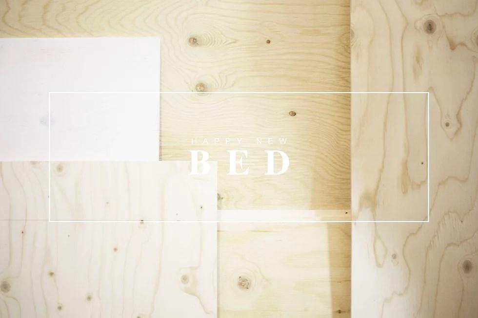 happy new bed -