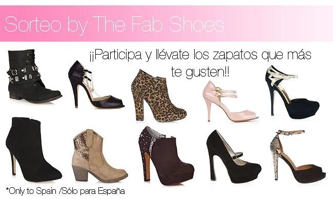 CERRADO - Sorteo de un par de zapatos by The Fab Shoes!!