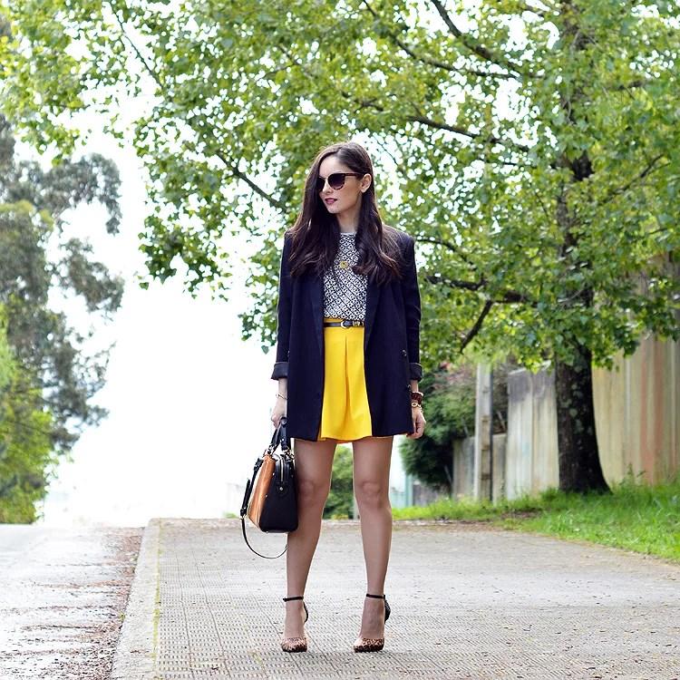 Zara_ootd_outfit_yellow_animal_print_blazer_04