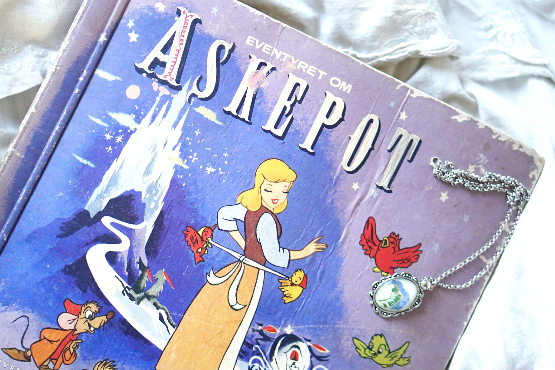 Disney Friday: Cinderella Vintage Book
