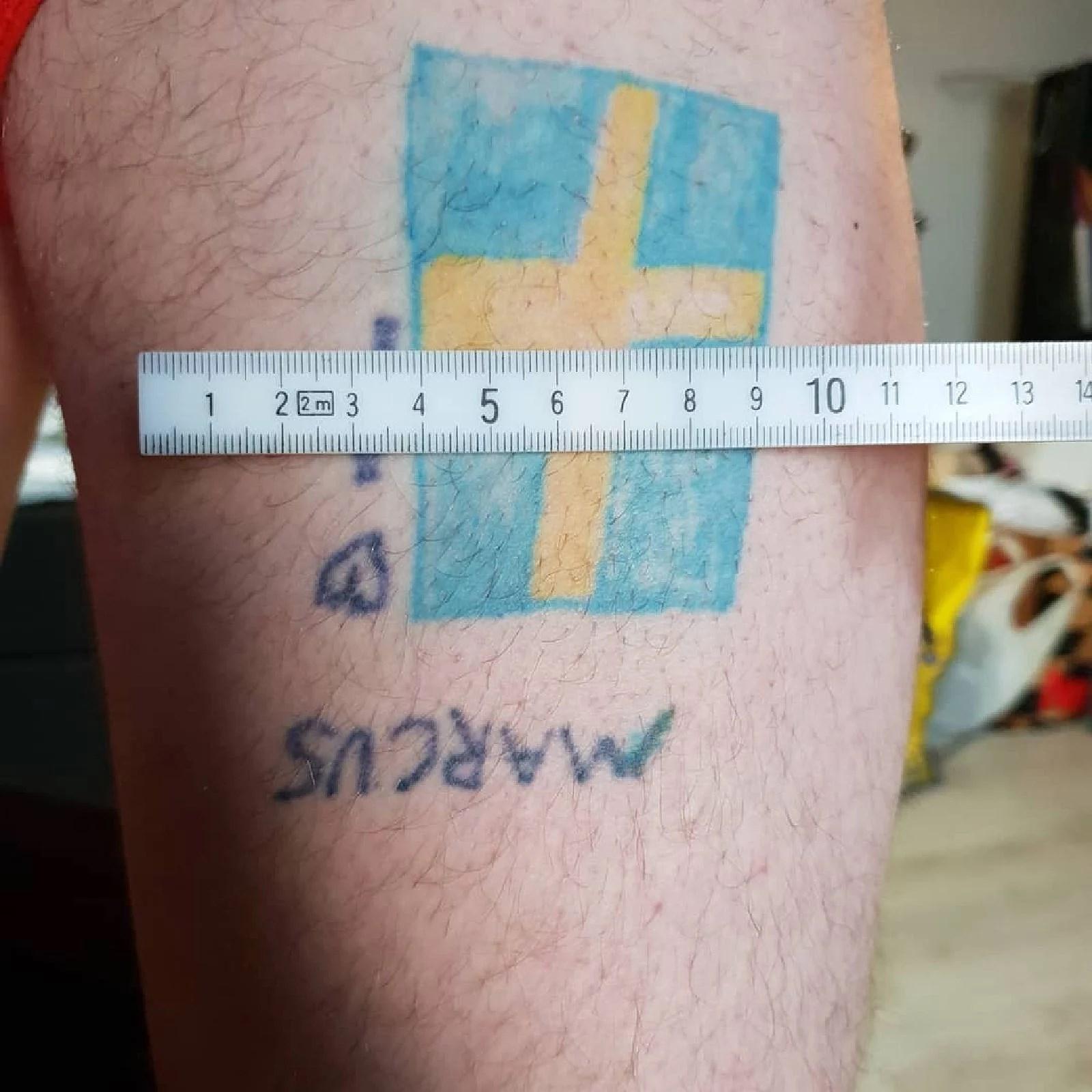 En coverup tatuering!
