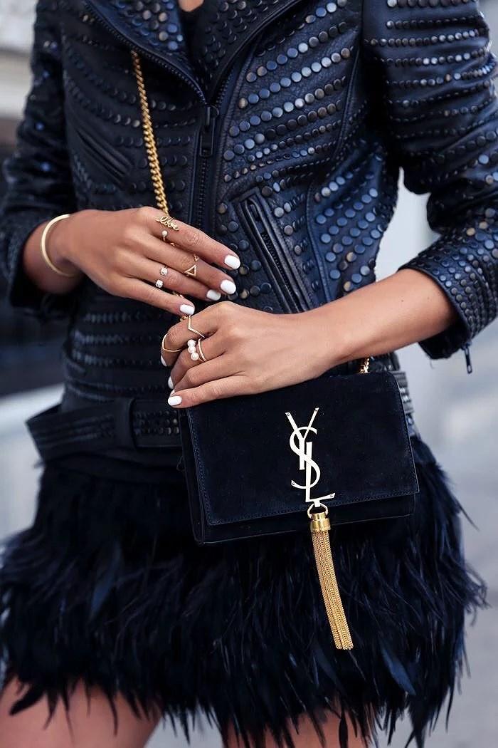 YSL bag? Yes, please.