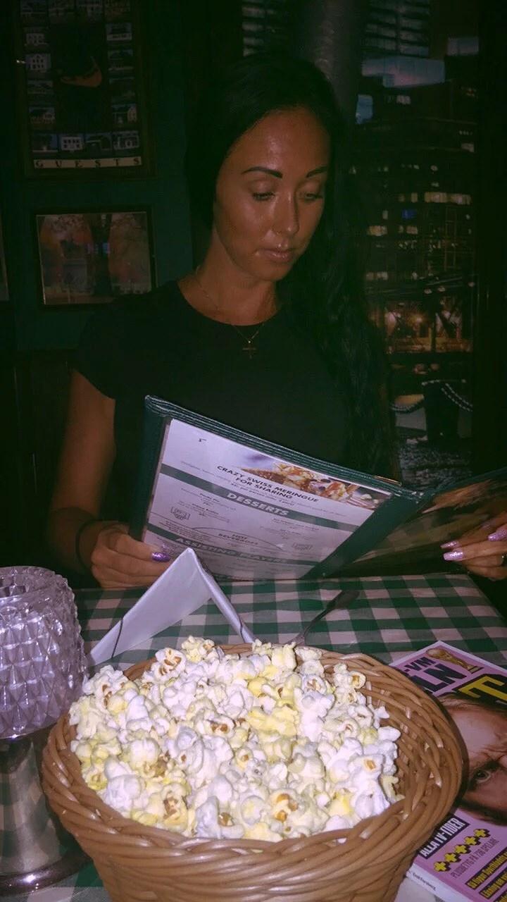 Stan, popcorn och mys!