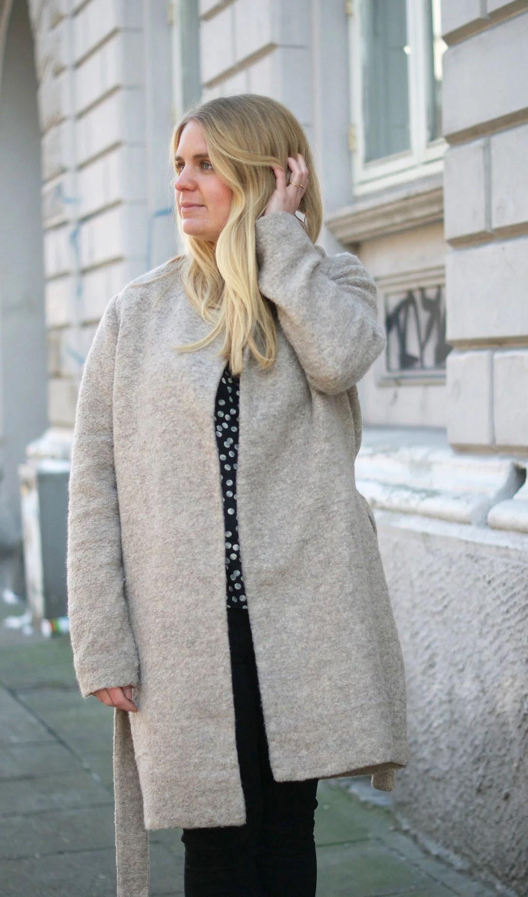 Modeblogger, Dansk modeblog, Second Female, Second female coat, Kamelfrakke, Etc Etc, Etc Etc prikker, Dansk modeblog, It's My Passions, Julie Mænnchen, Aalborg blog, Aalborg blogger