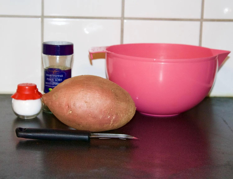 Slik lager jeg ovnsbakte søtpotetfries