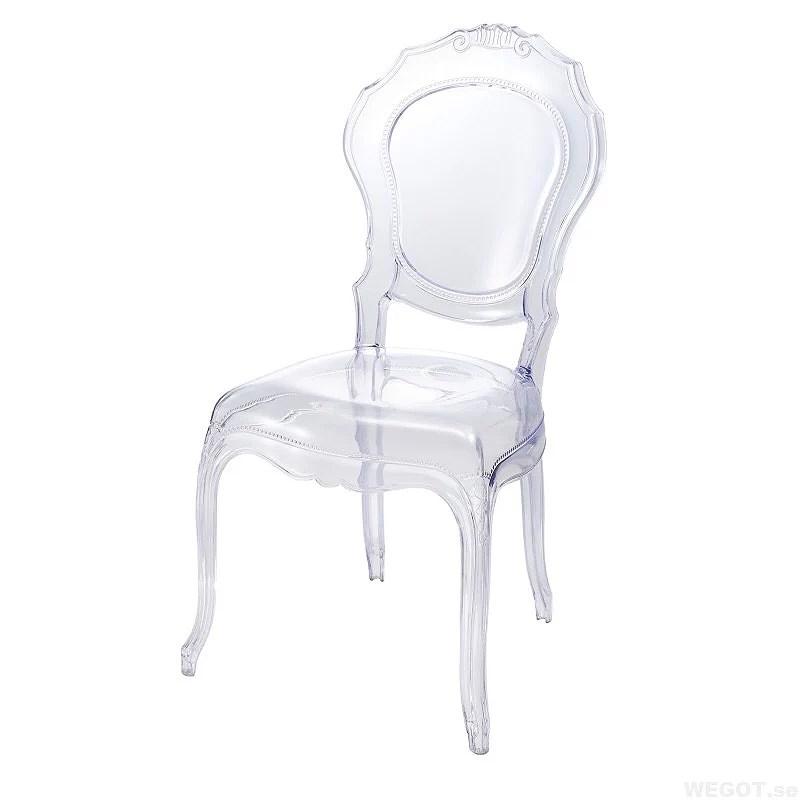 Genomskinliga stolar