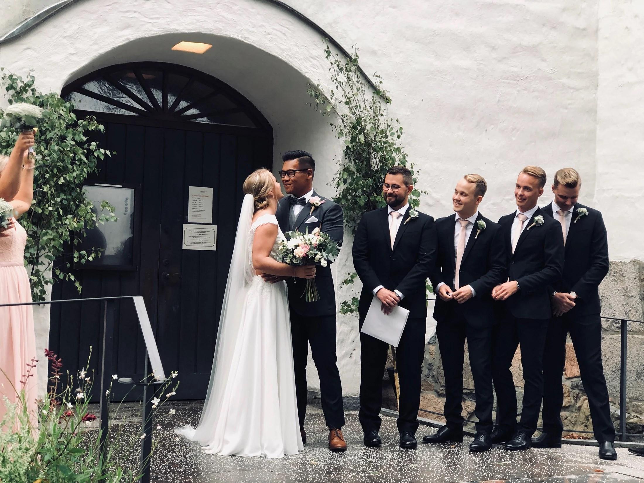 The Wedding 👰🏽⛪️🤵🏾