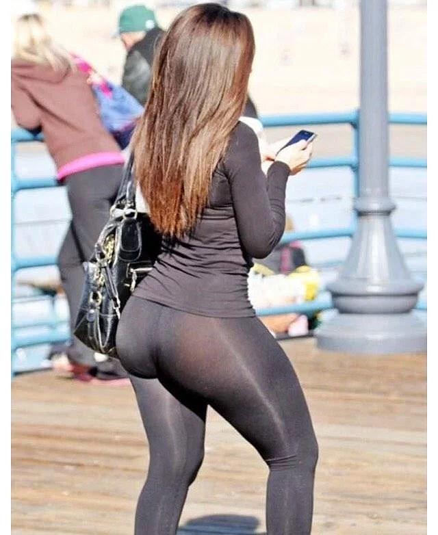 tjejer i leggings