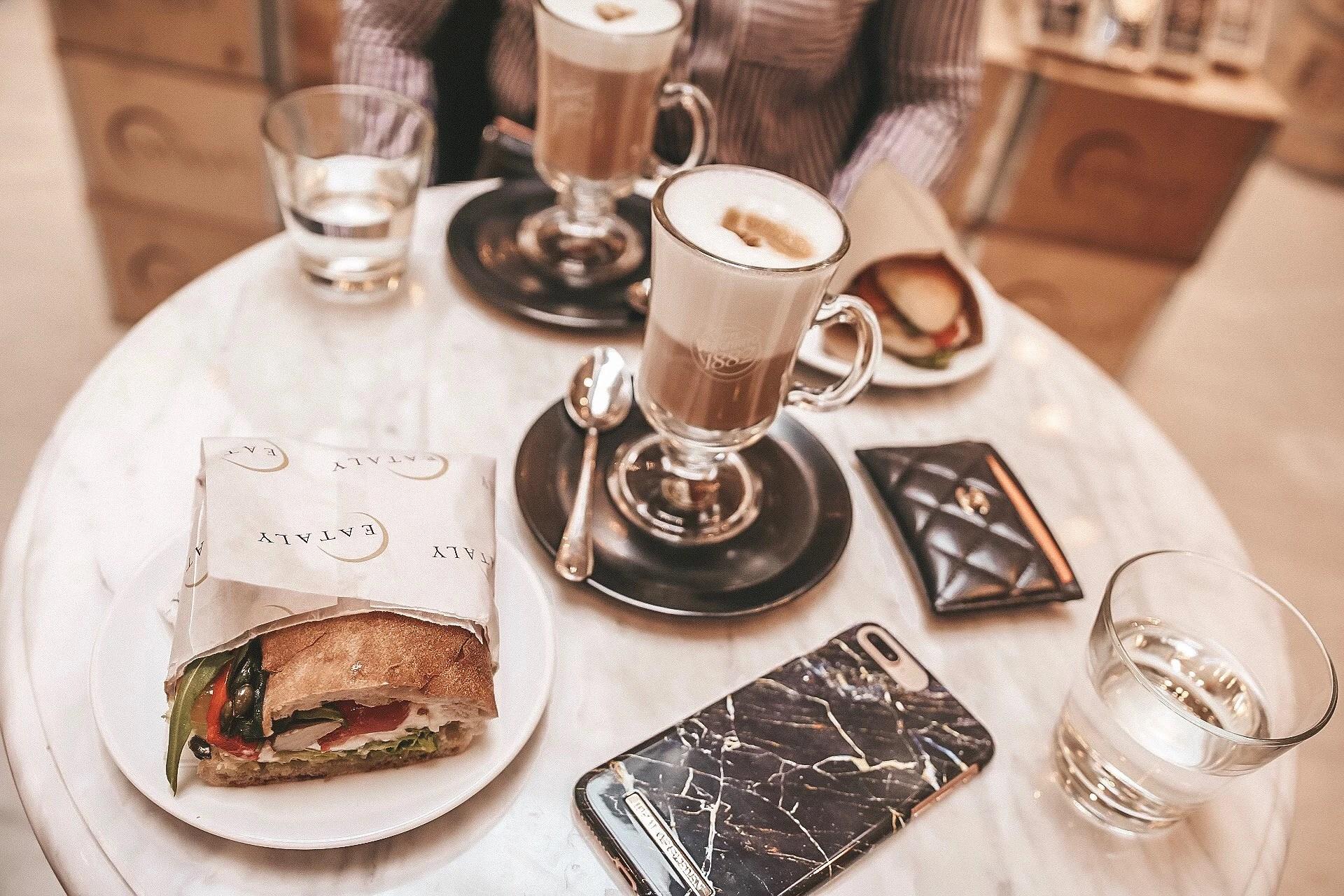 Frukost på Eataly & en försenad veckolista