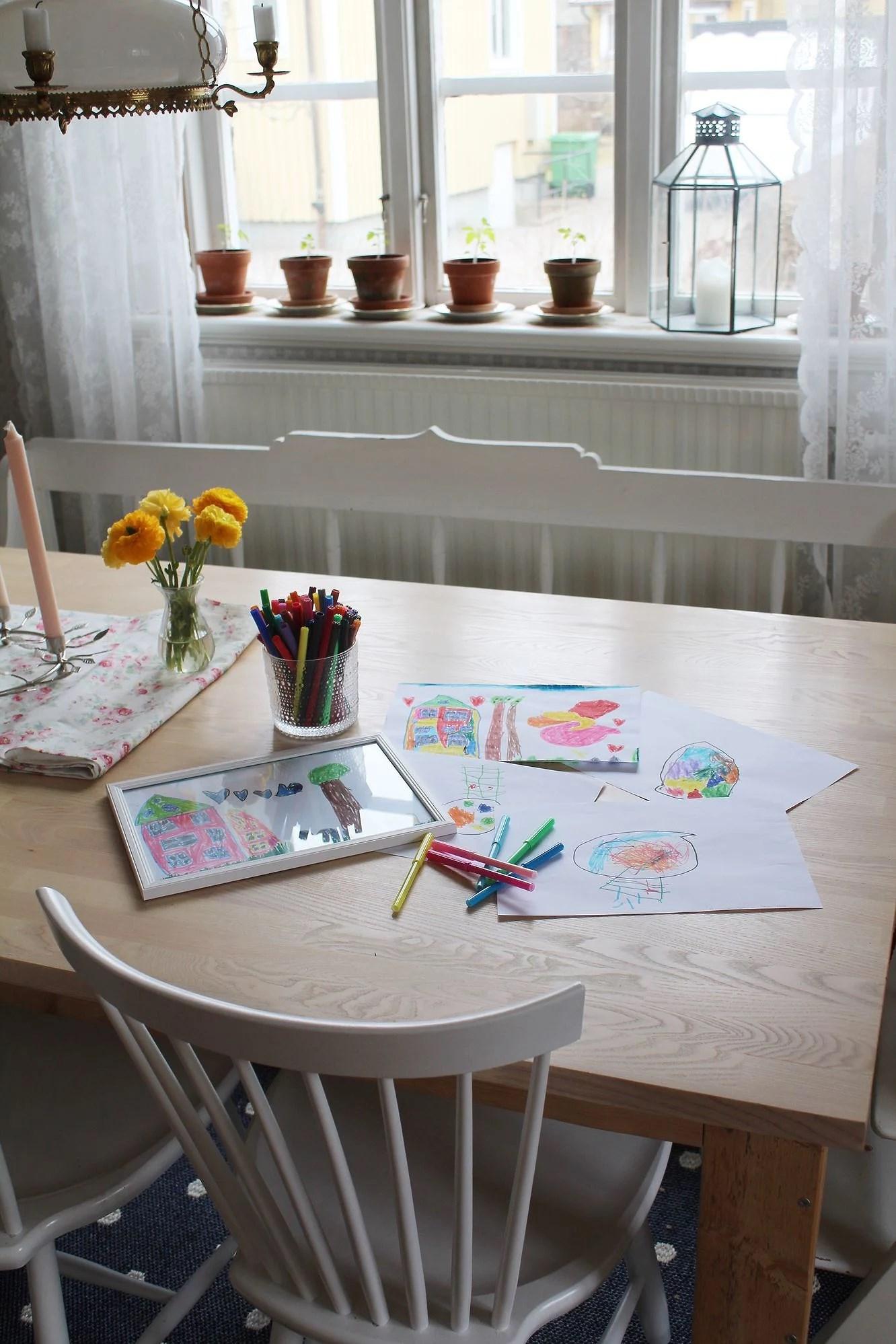 Mina små konstnärer!