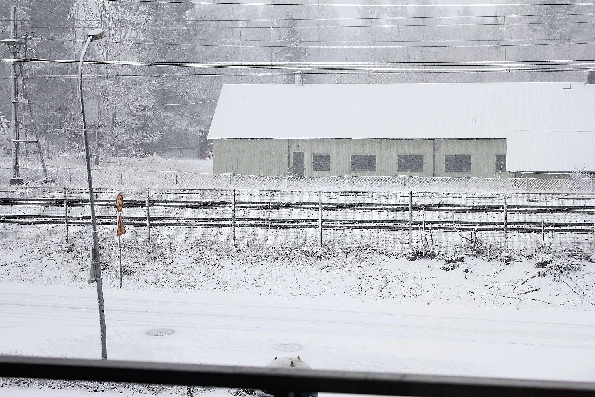 Snöstorm & ändrade planer