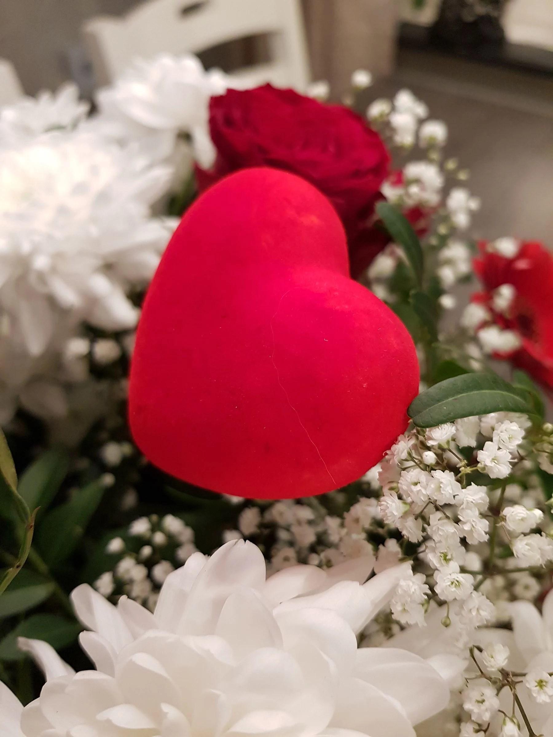 Alla-hjärtans-dag blommor!