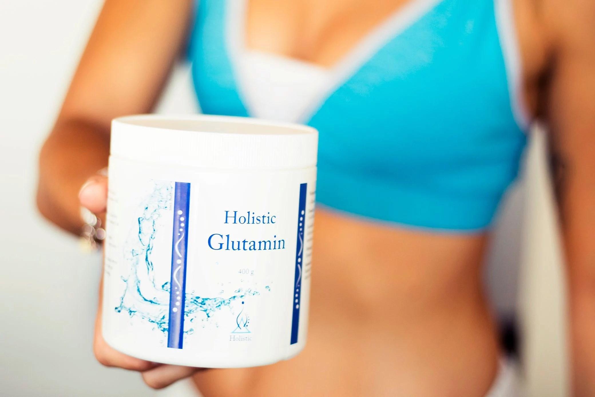 Kosttillskottet Glutamin, ja eller nej?