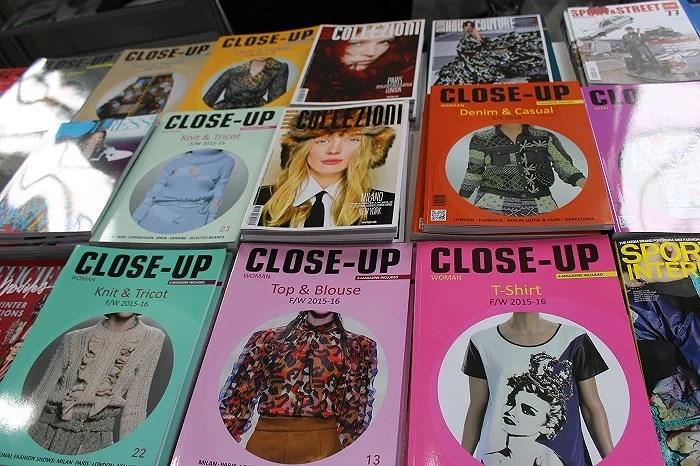 Magazines. Feria Porto