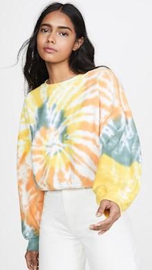 AGOLDE Balloon Sleeve Sweatshirt