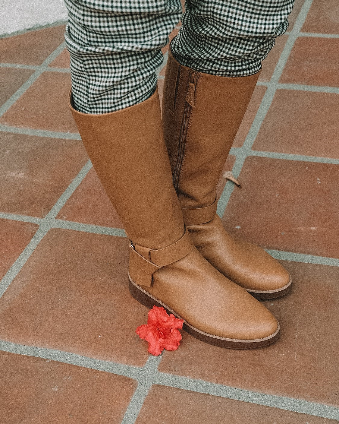 fitflop knot boot, mustard, knee high boot outfit, fall outfits