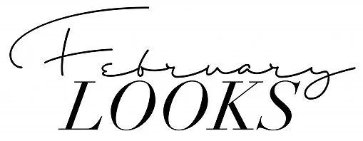 FEBRUARYLOOKS