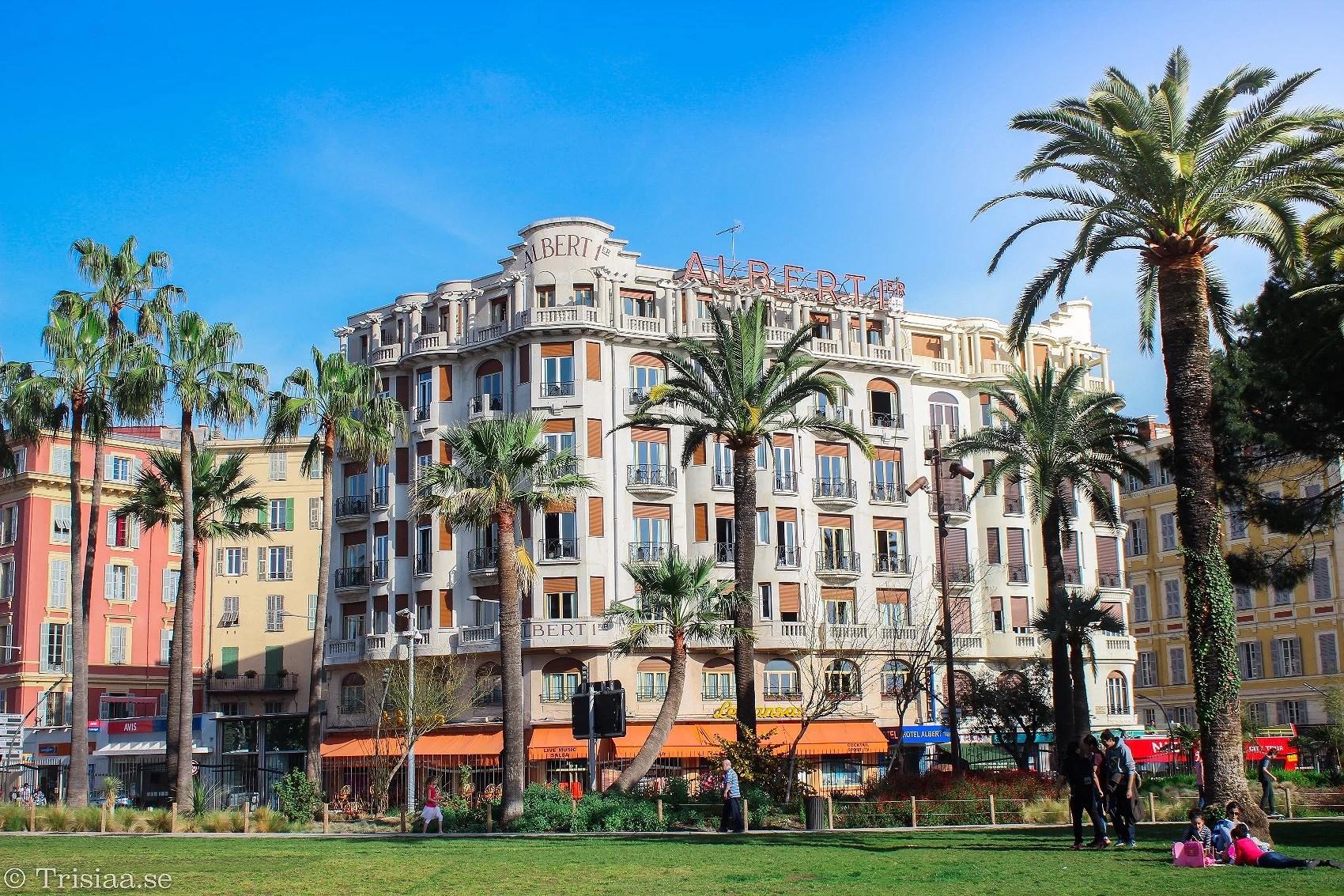 Jardin Albert I - Centrala Nice