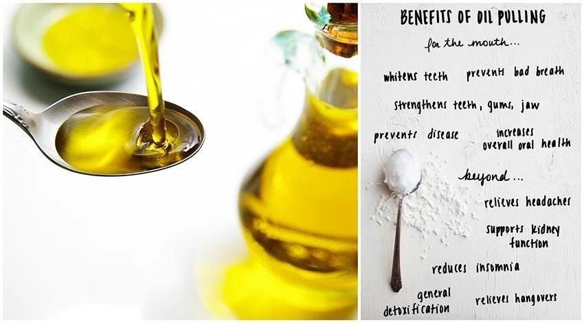 Coconut Oil Pulling - Detox