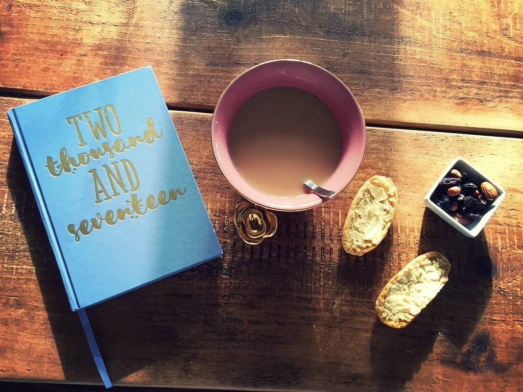 Yoga & en stor kopp te - godmorgon