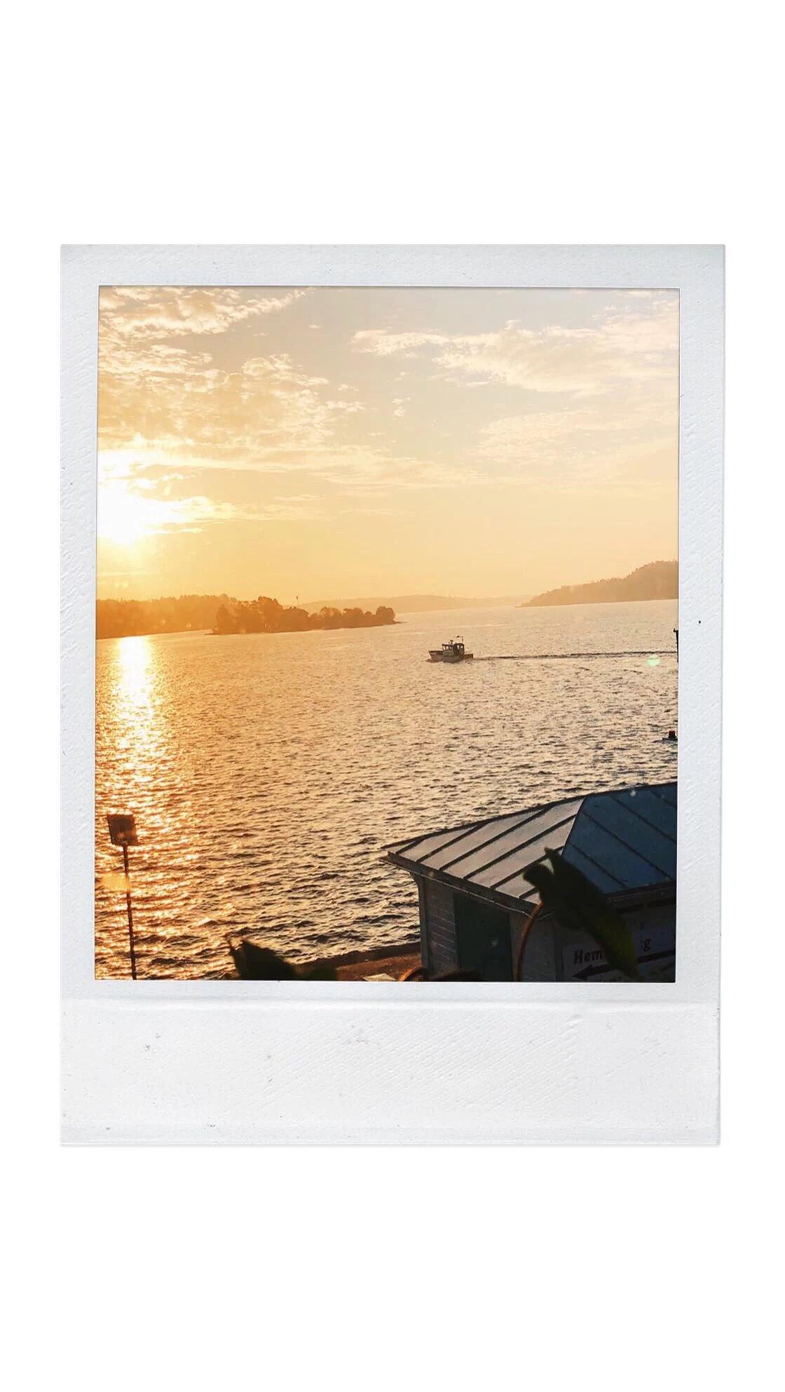 Fredag och en soluppgång