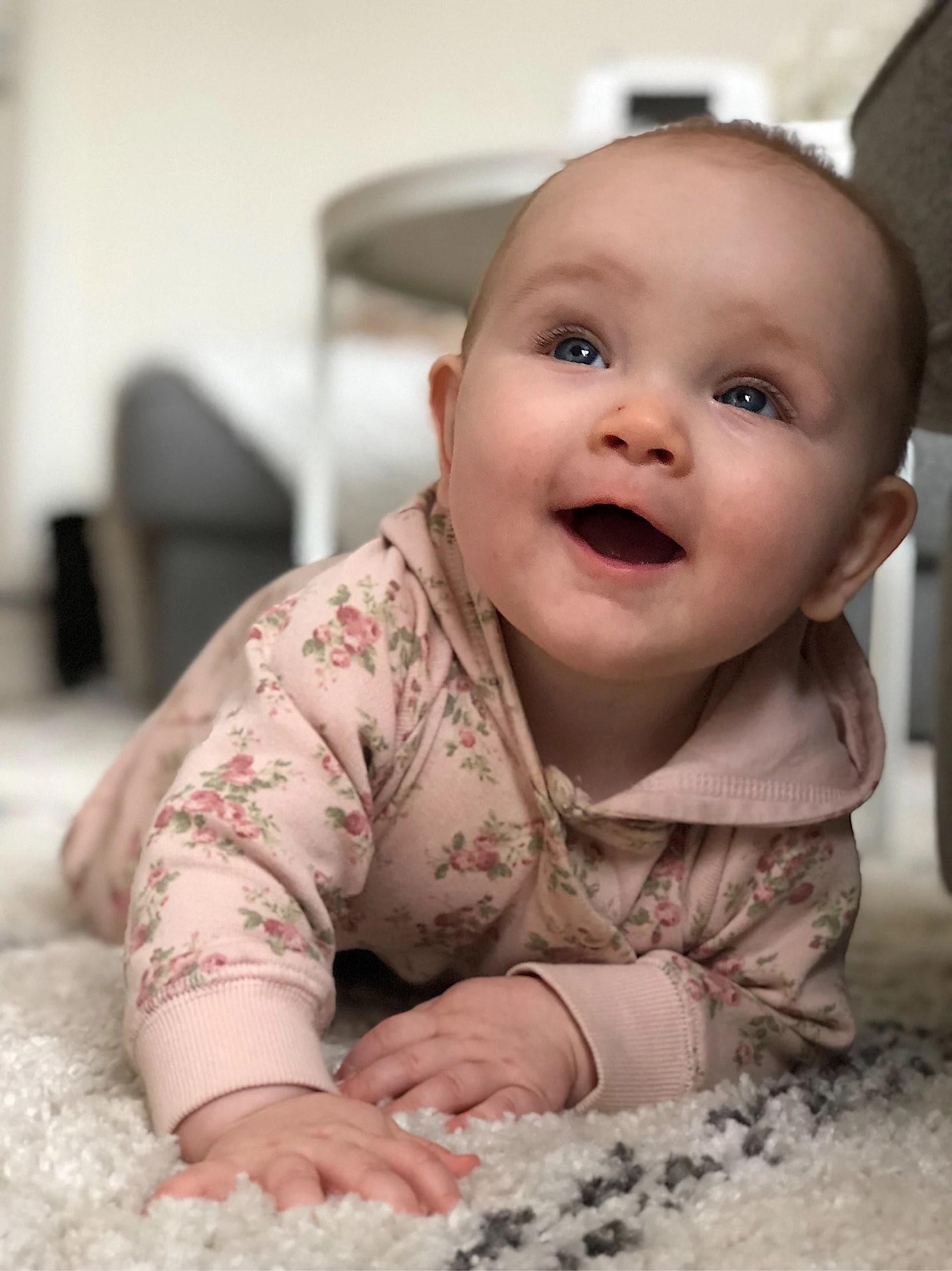 En liten söt knubbis