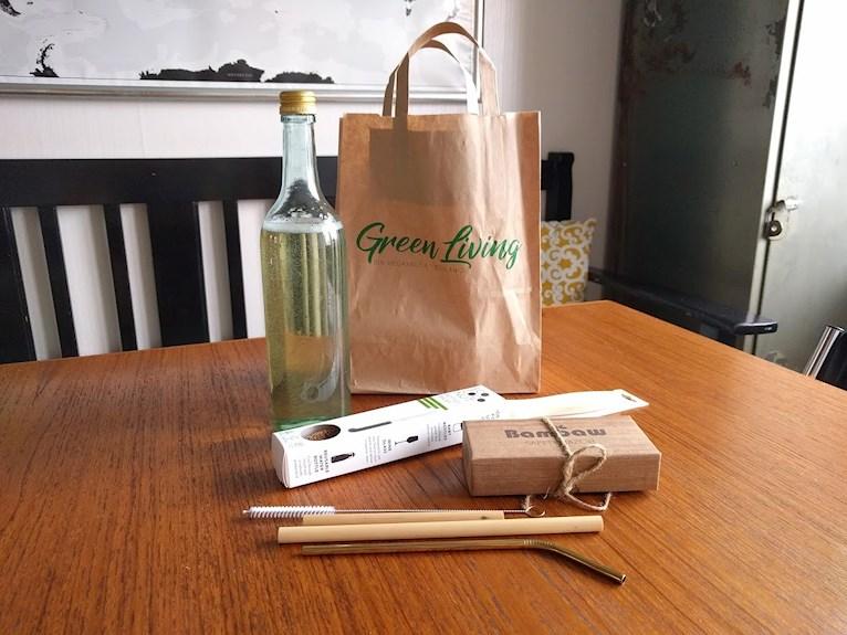 Förpckningsfritt zero waste från Green living Borlänge vegansk butik