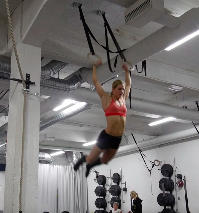 10 ring muscle ups - check!