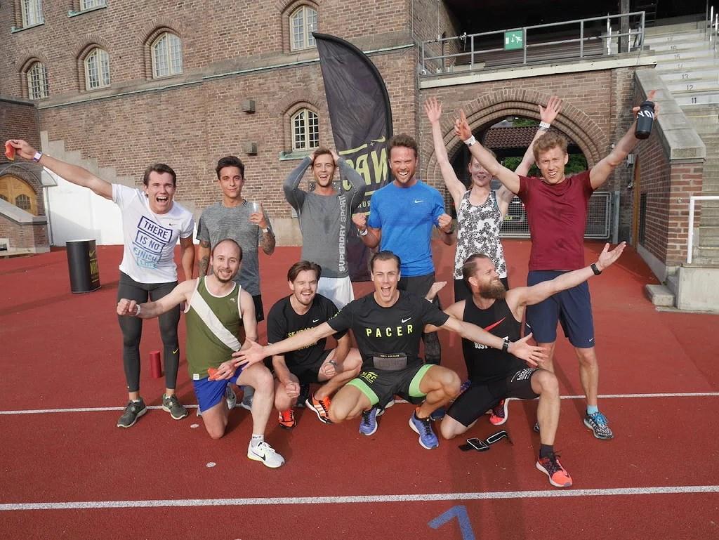 Gråa gruppen (3:45/km)