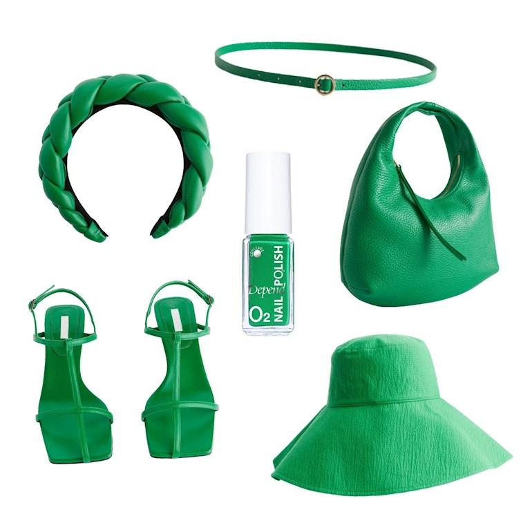 Gröna accessoarer