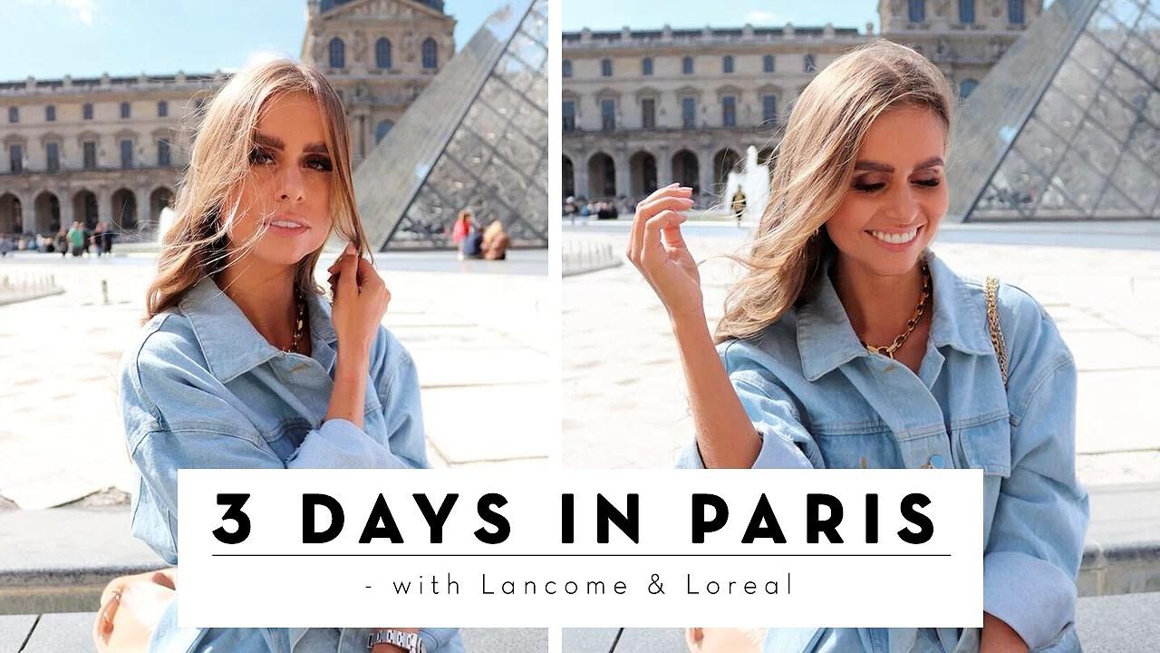 VIDEO / 3 DAYS IN PARIS