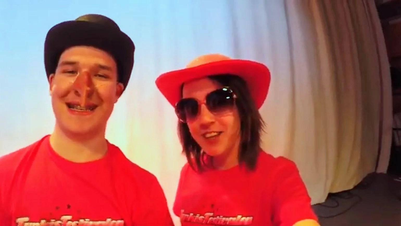 Vlogg - filminspelning inför funkis festivalen