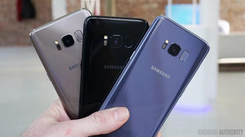 Samsung galaxy s8 och Samsung galaxy s8+