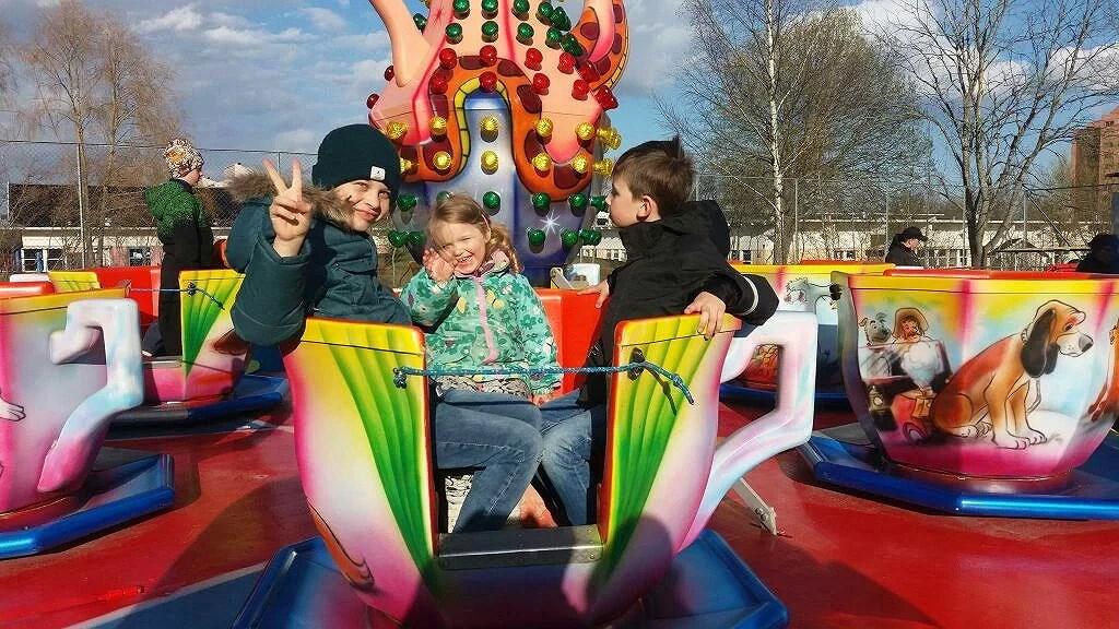 Lyckliga barn!