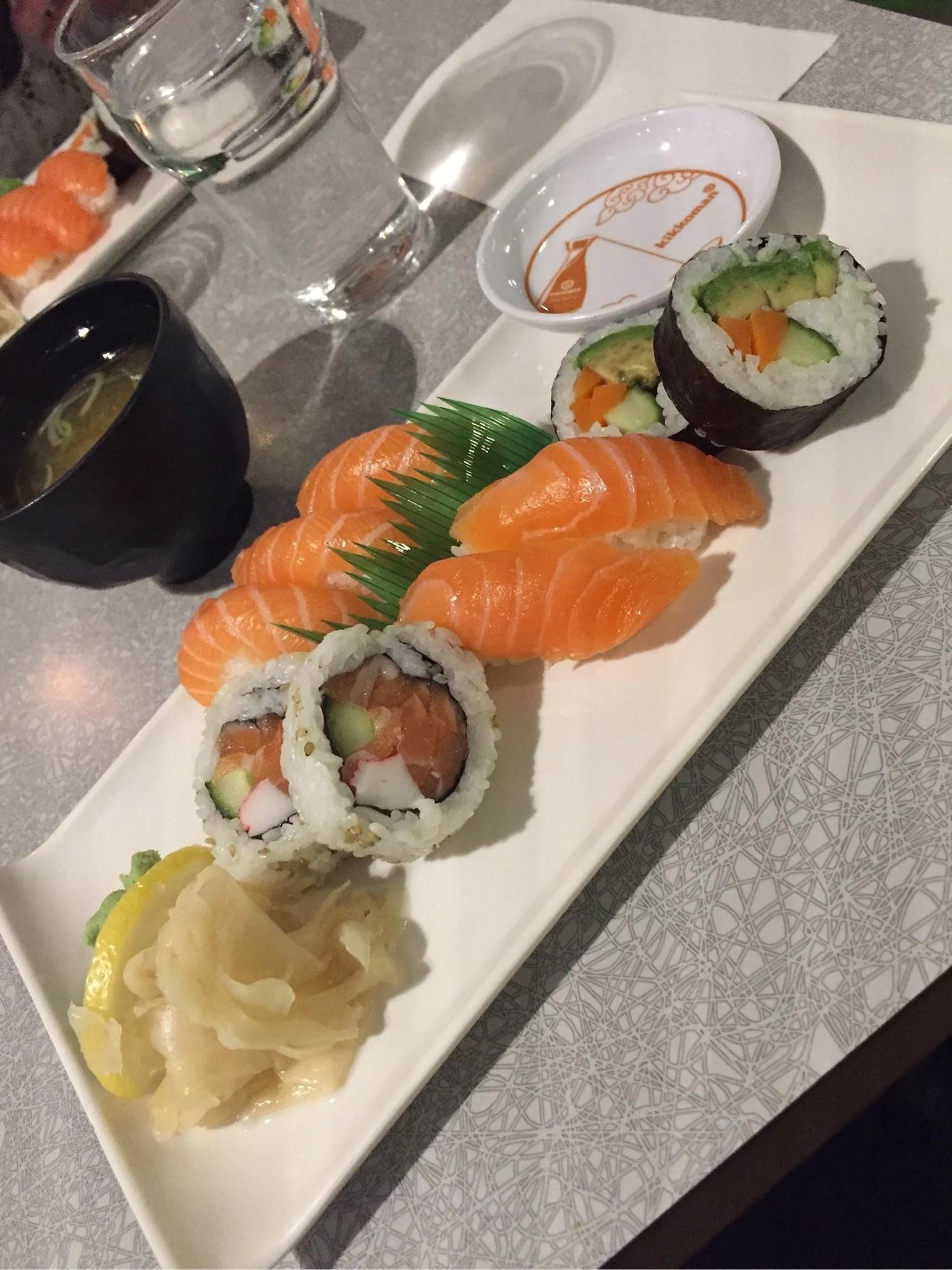 Sushi me bästa