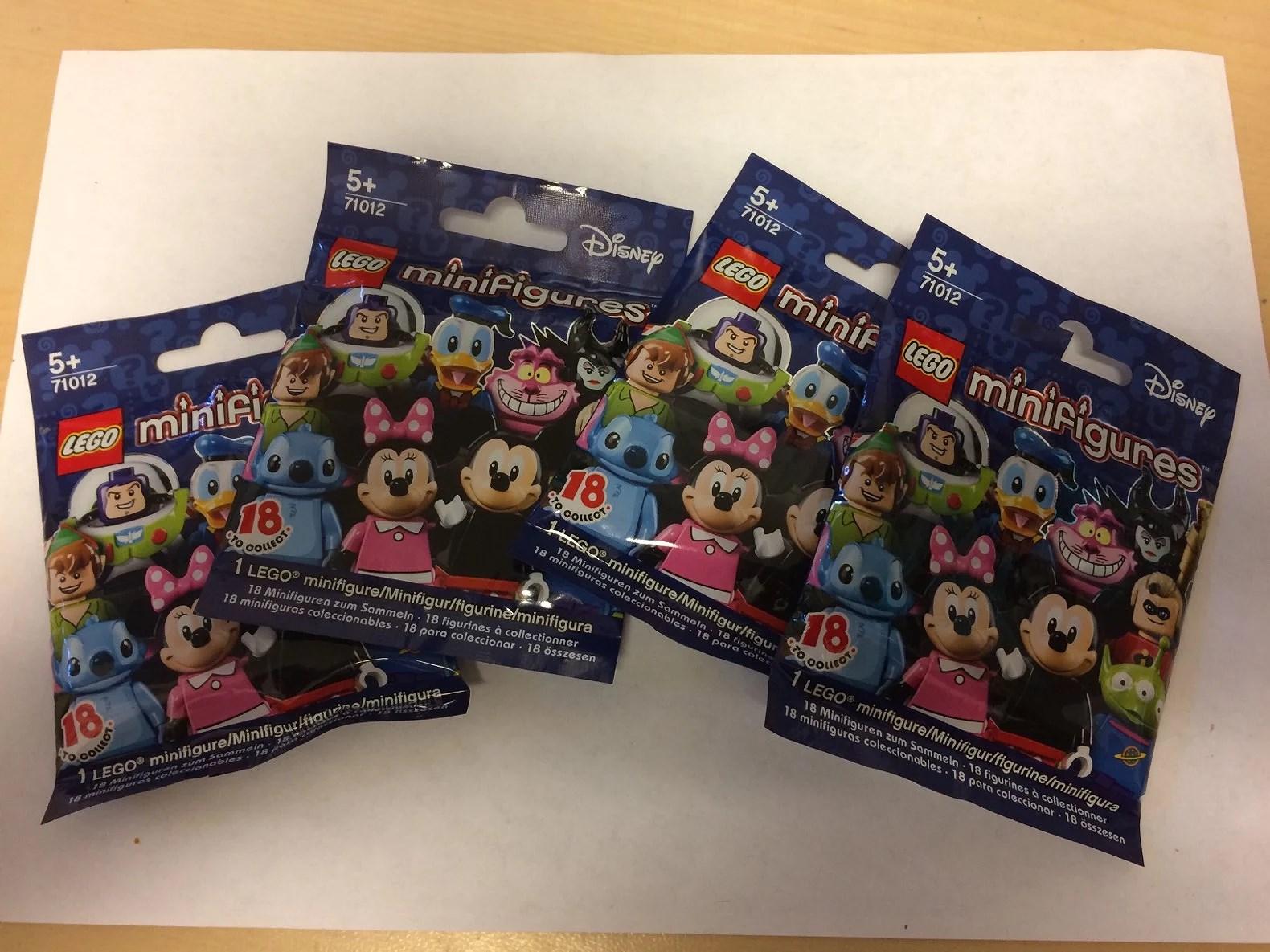 Nya Disney Lego minifigurer