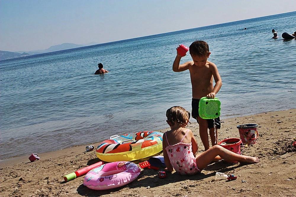 Lørdag på stranda
