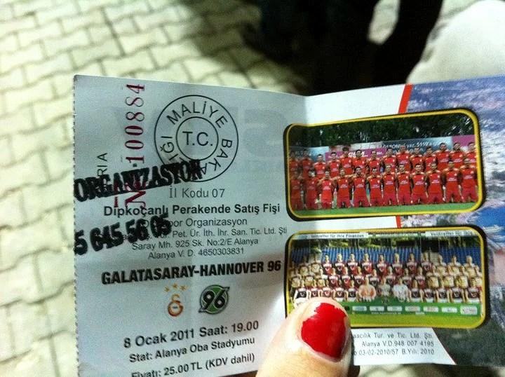 Galatasaray - Hannover