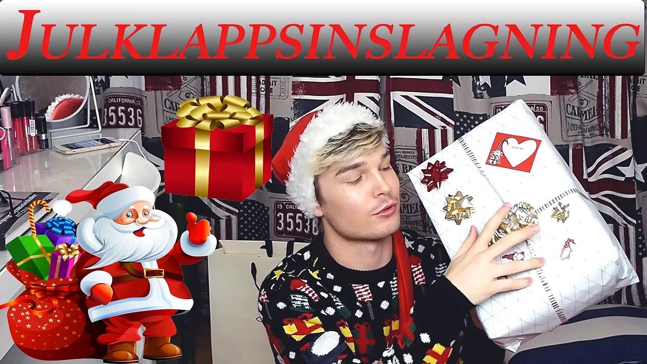Julminnen och julklappsinslagning video 🎅🏻❄️