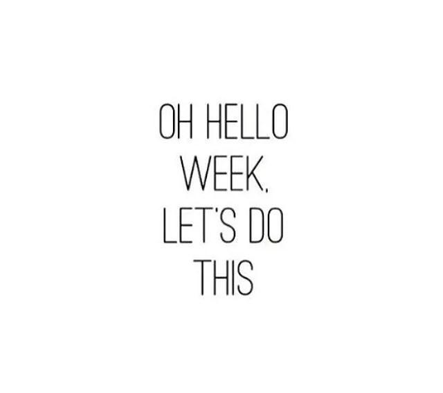 Veckans planer