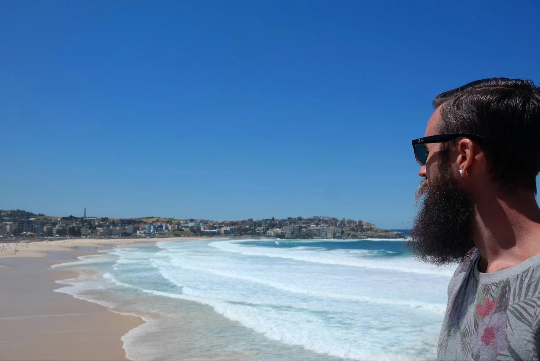 Bondi beach och sista dagen i Sydney