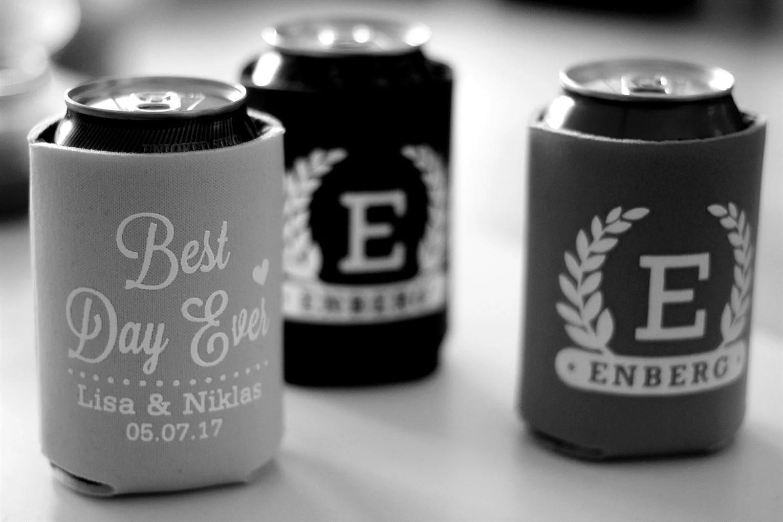 Can coolers | #EnbergWedding