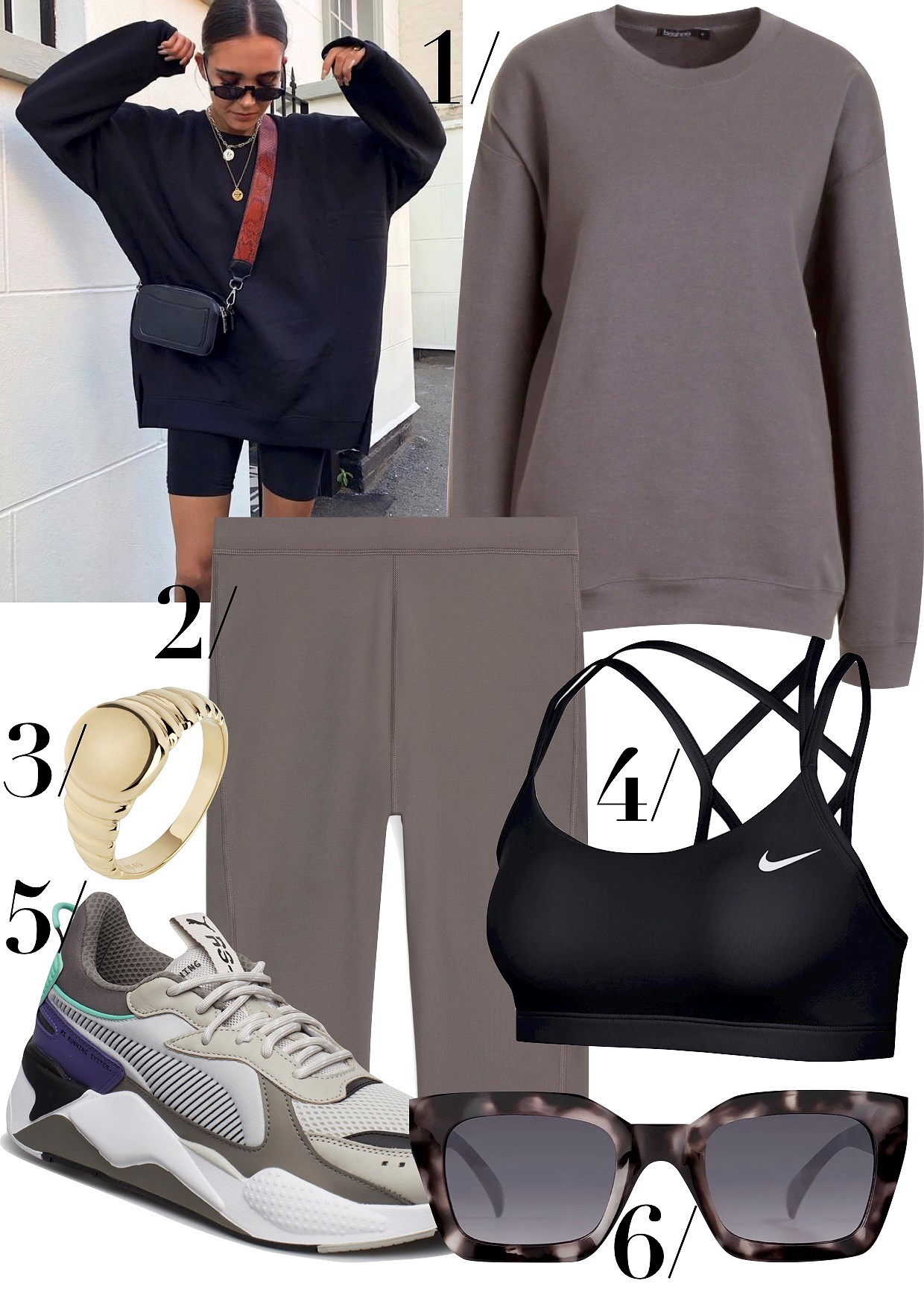 SPORTY OUTFIT INSPIRATION