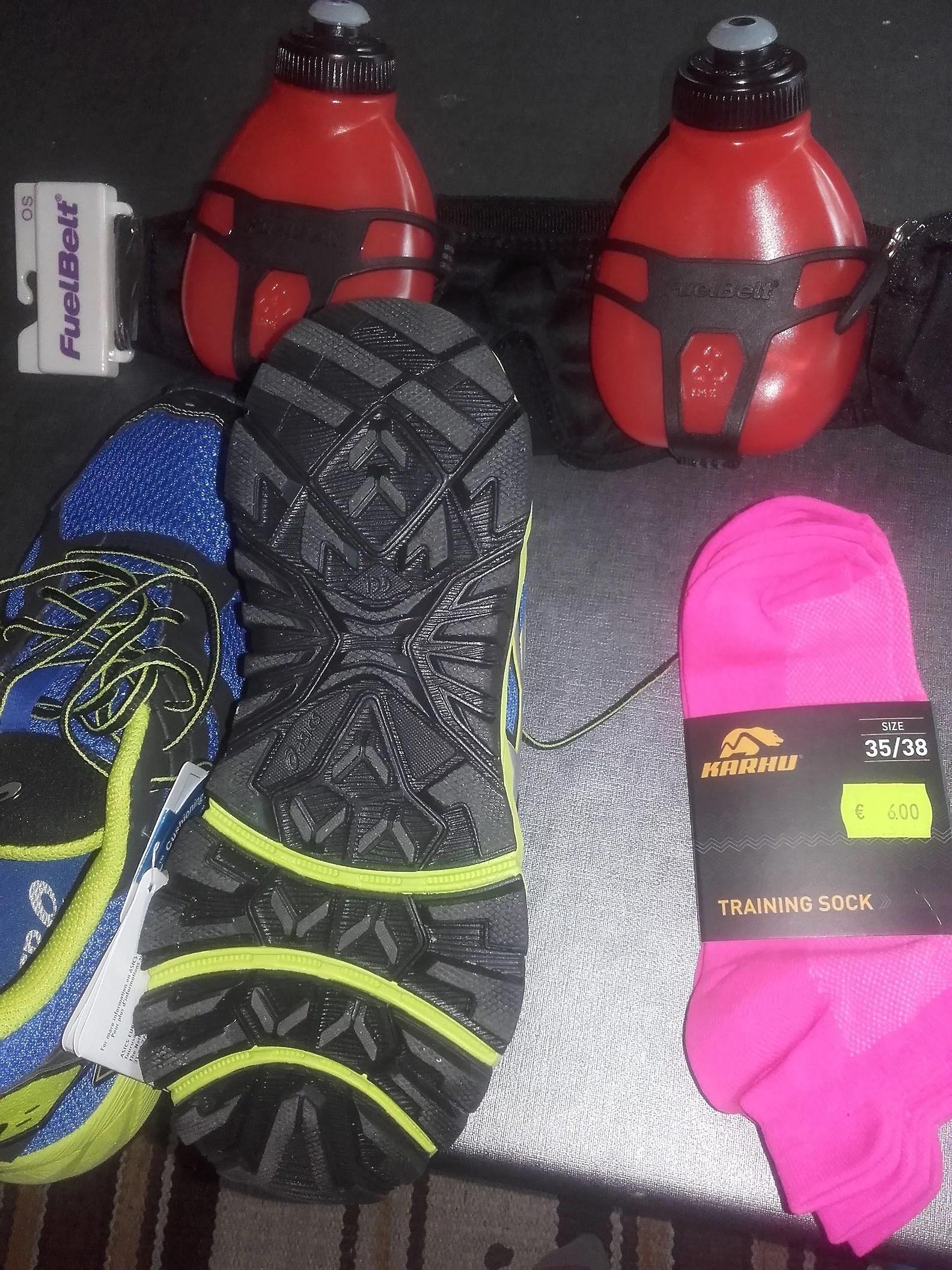 Nya saker till löpningen