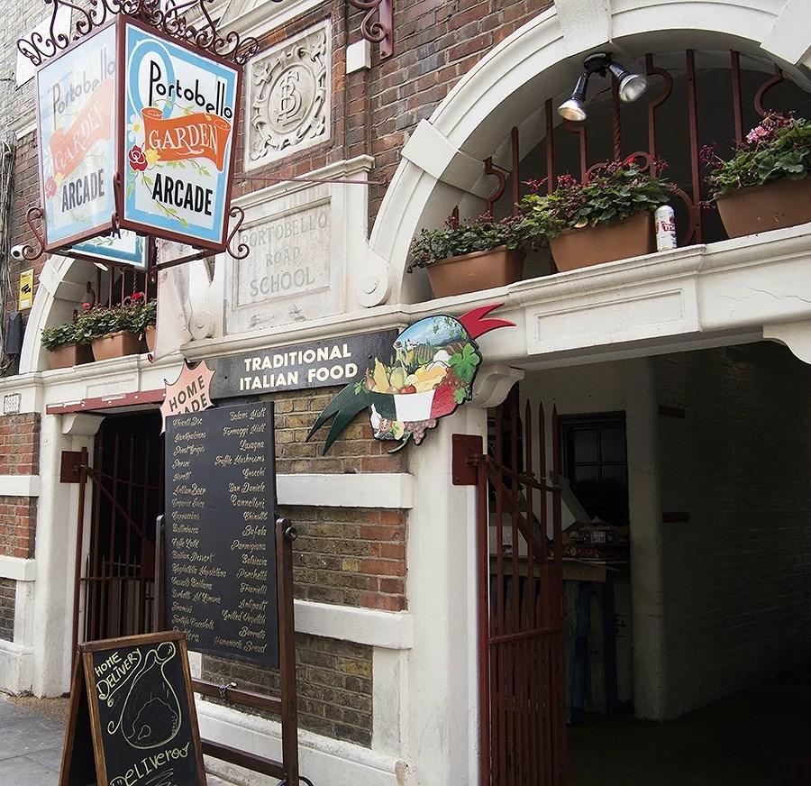 Portobello Garden Arcade