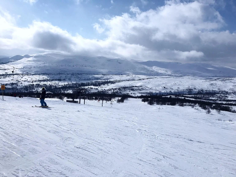 Mer skidåkning